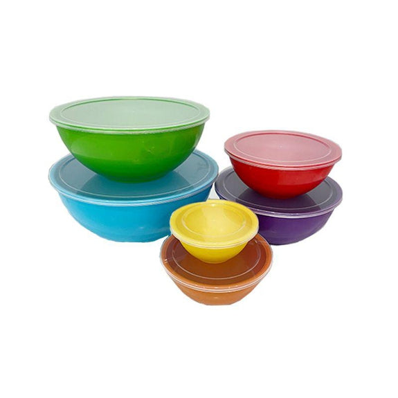 Air Tight Nesting Bowl Set-24 Pieces Including Lids-