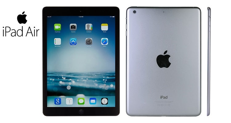 Daily Steals-Apple iPad Air 16GB with Wi-Fi - Black with Space Gray-Tablets-