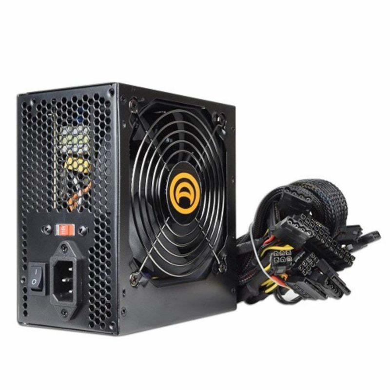 A-Power AK 680W 20+4-pin ATX PSR Power Supply w/SATA & PCIe & 120mm Fan-Daily Steals