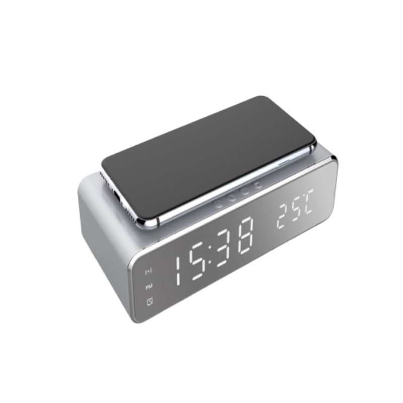 Wireless Charging Digital Alarm Clock-Daily Steals