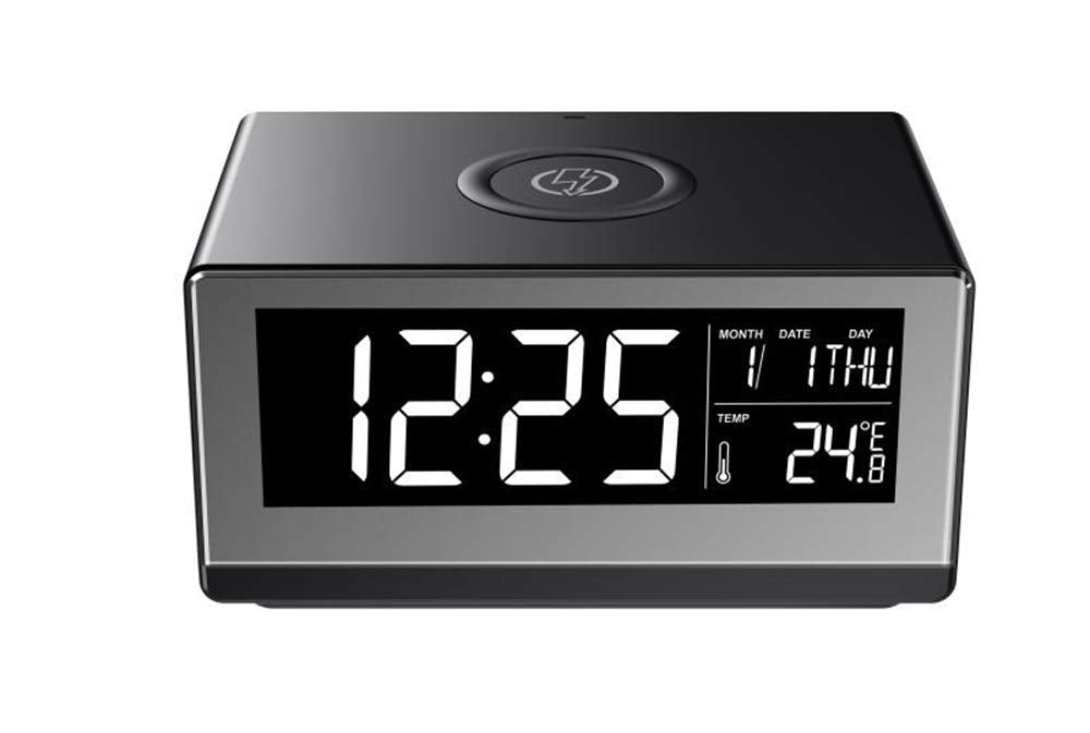 Boytone Fast Wireless Charging Digital Alarm Clock-Daily Steals
