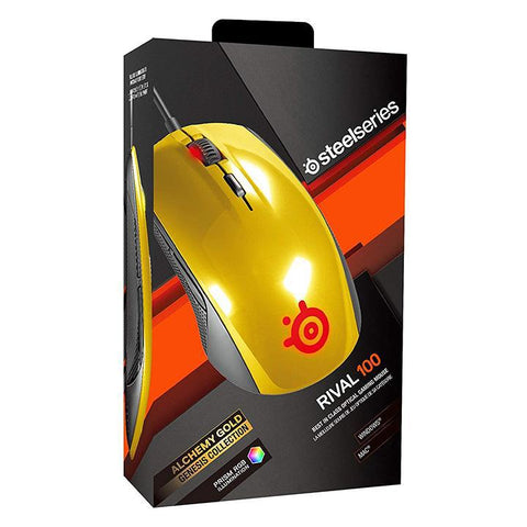 SteelSeries Rival 100, Optical Gaming Mouse