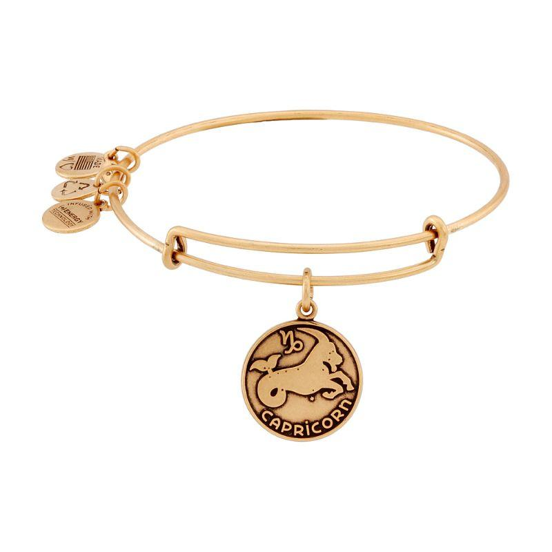 Alex And Ani Capricorn II Gold Expandable Expandable Bangle Bracelet A13EB01CARG-