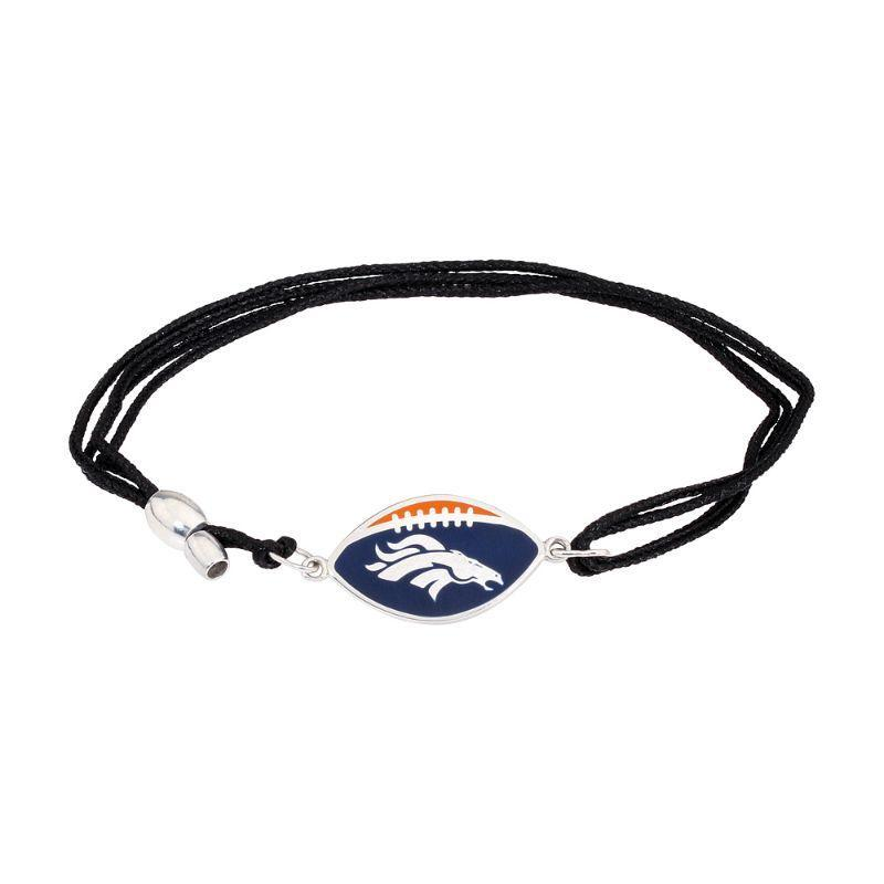 Alex And Ani Denver Broncos Pull Cord Bracelet AS17KC34S-