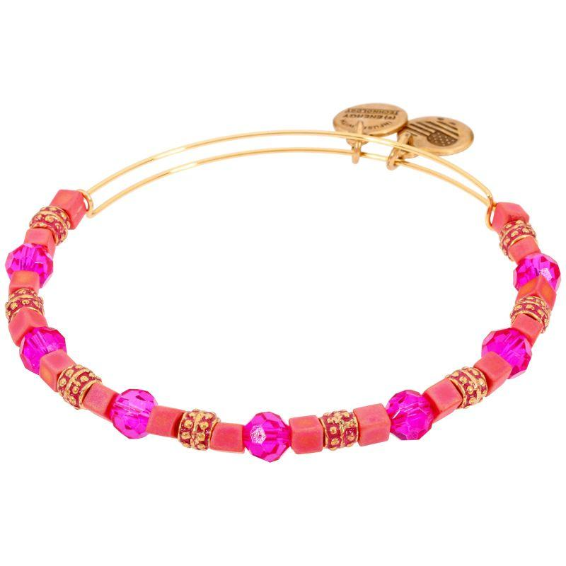 Alex And Ani Dragonfruit Coral Multi-Color One Size Bracelet A17EB80RG-