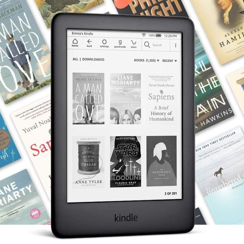 All New Kindle (10th Generation-2019) 4GB, Wi-Fi - with Special Offers-Daily Steals