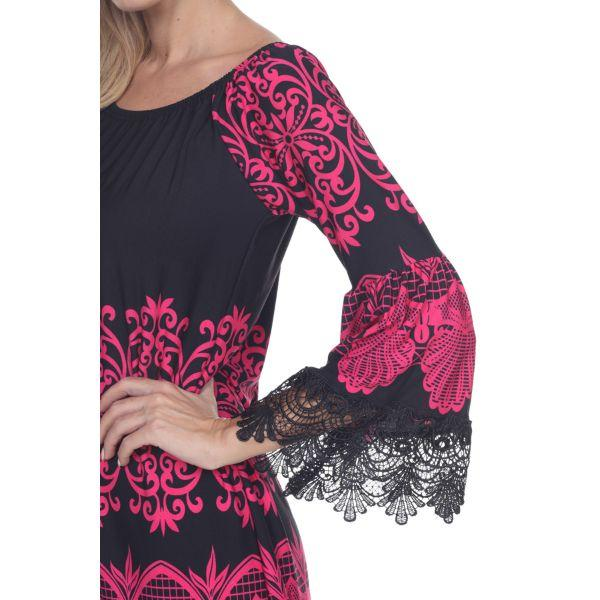 Daily Steals-Alta' Dress-Women's Apparel-Fuchsia-S-