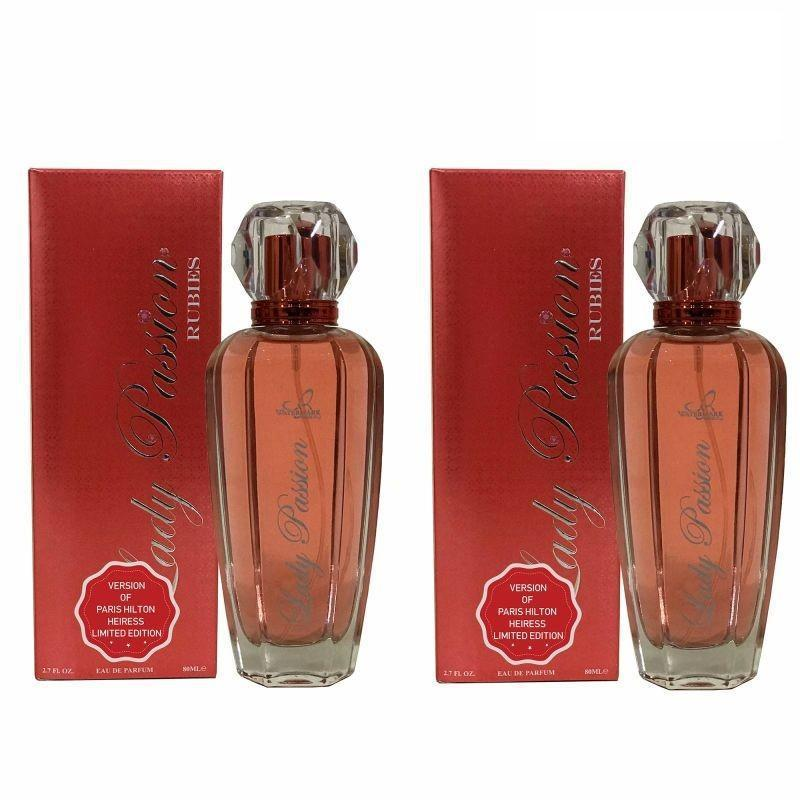 Alternative To Paris Hilton Heiress For Women, EDP 2.7 Fl Oz - 2 Pack-Daily Steals