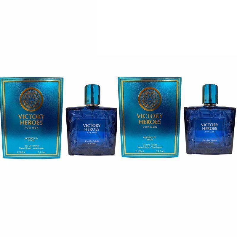 Alternative To Versace Eros Men By Versace EDT For Men 3.4 Fl.Oz - 2 Pack-Daily Steals