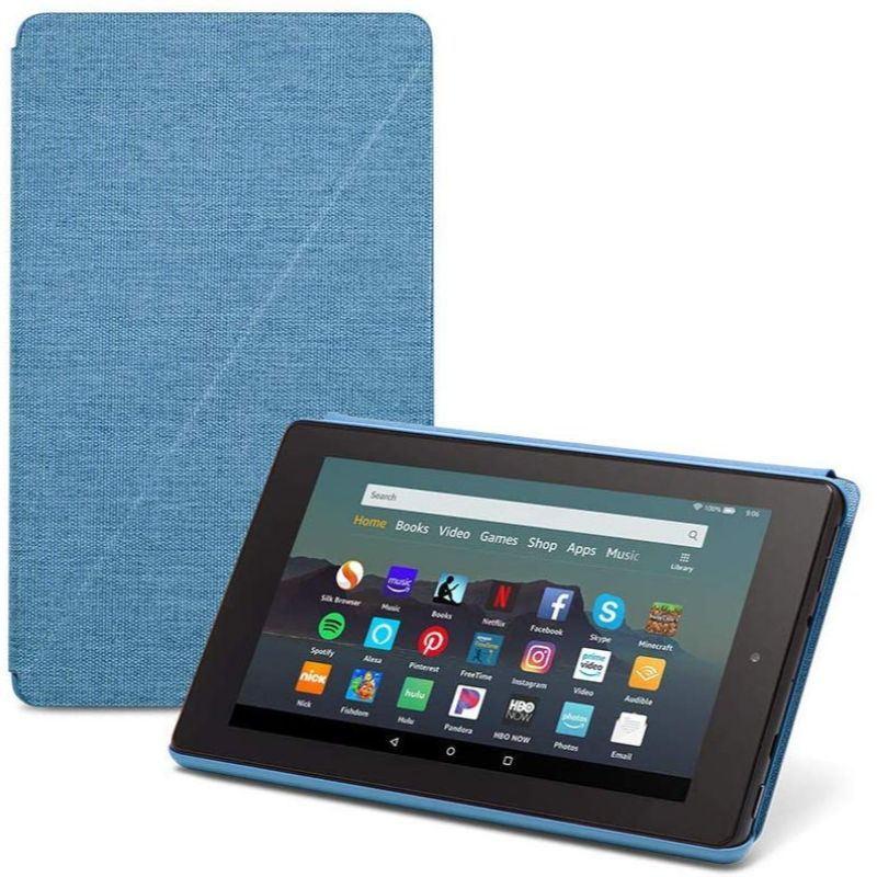 Amazon Fire 7 Slim Tablet Case 2019-Blue-Daily Steals