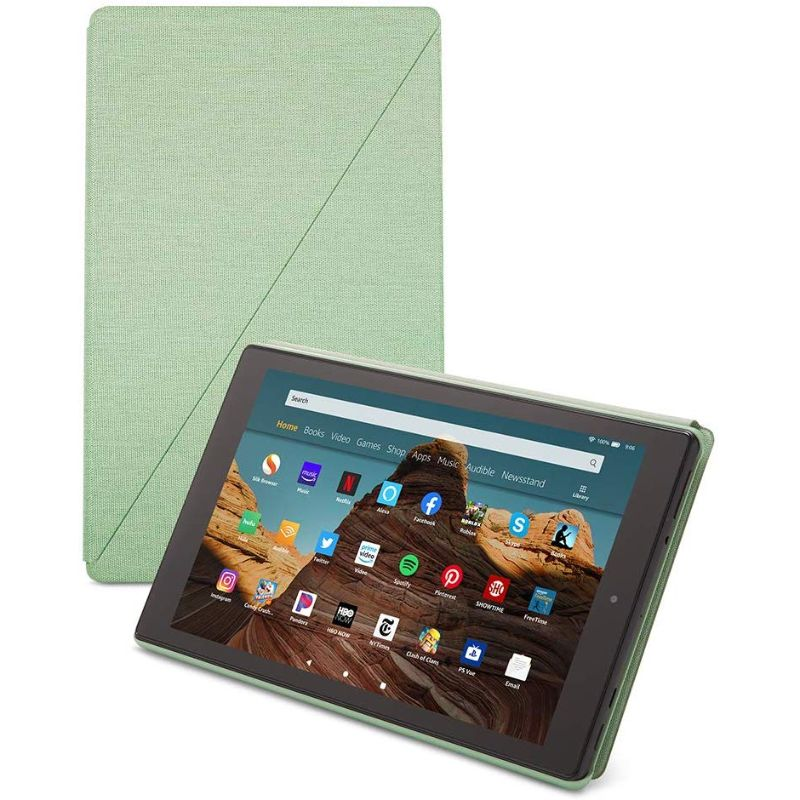 Amazon Fire 7 Slim Tablet Case 2019-Sage-Daily Steals