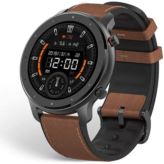 Amazfit GTR Smartwatch, All-Day Heart Rate Monitor, Activity Tracker, 47mm-