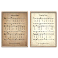 Amazing Grace Biblical Hymn Decorative Print-Daily Steals