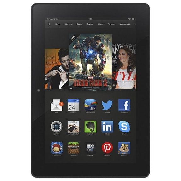 "Amazon Kindle Fire HDX with 8.9"" UltraHD Display - 3rd Gen-16 GB-"