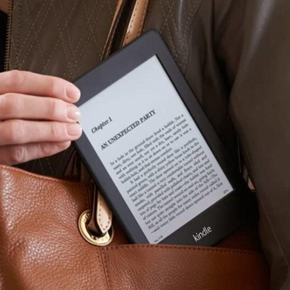 Amazon Kindle Paperwhite - 5th Generation, Wi-Fi, plus 3G, 2GB - E-Reader-
