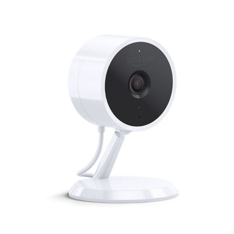 Amazon Cloud Cam (Key Edition) Indoor Security Camera, Works with Alexa-Daily Steals