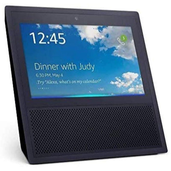 Amazon Echo Show Bluetooth Smart Speaker with Alexa-Black-Daily Steals