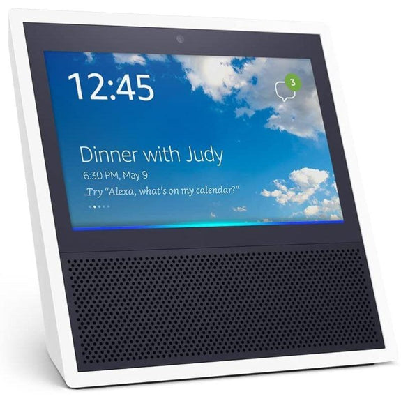 Amazon Echo Show Bluetooth Smart Speaker with Alexa-White-Daily Steals