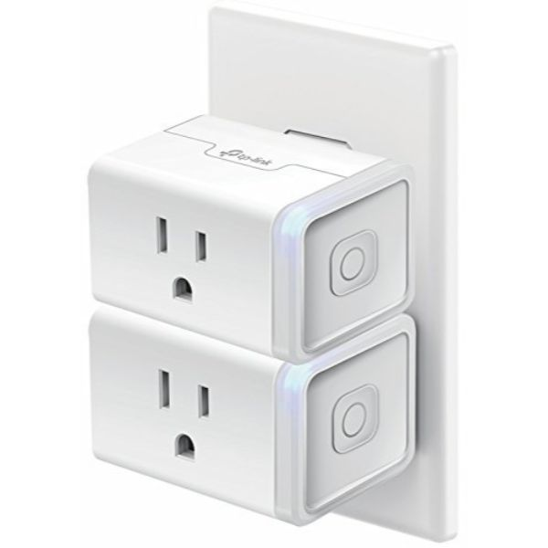 Kasa Smart WiFi Plug Mini by TP-Link - Smart Plug, No Hub Required, Works with Alexa and Google - 2 Pack-Daily Steals
