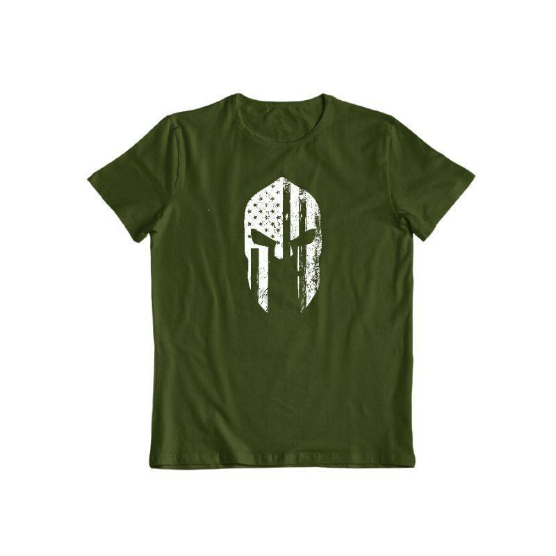 Daily Steals-American Warrior T-Shirt-Men's Apparel-Forest Green-S-