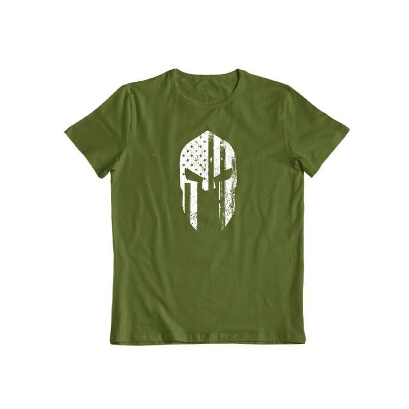 Daily Steals-American Warrior T-Shirt-Men's Apparel-Military Green-S-