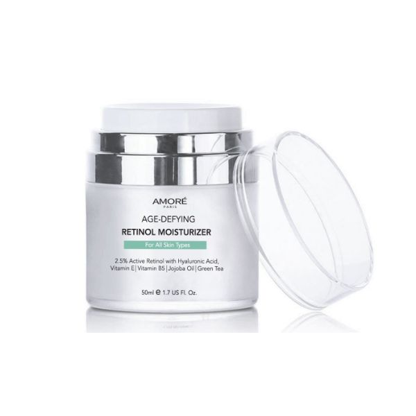 AMORÉ PARIS Retinol 2.5% High Potency Anti-Aging Moisturizer (1.7 Fl. Oz.)-Daily Steals