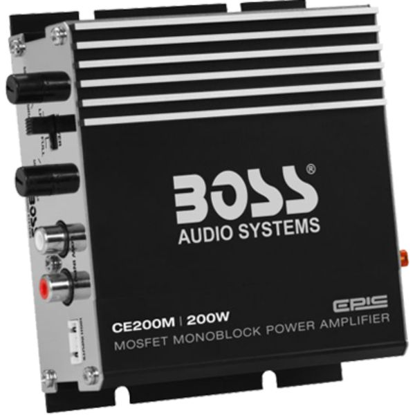 Amplifier, 1 Channel, 200 Watts By Boss Audio-Daily Steals