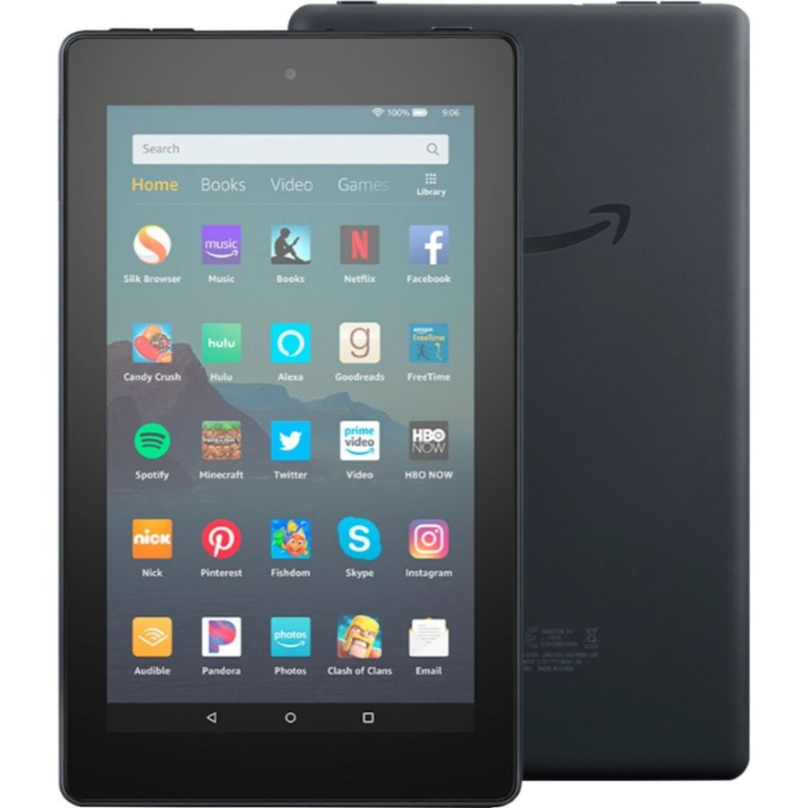 "Fire 7 Tablet (7"" display, 16 GB) with Special Offers-Black-Daily Steals"