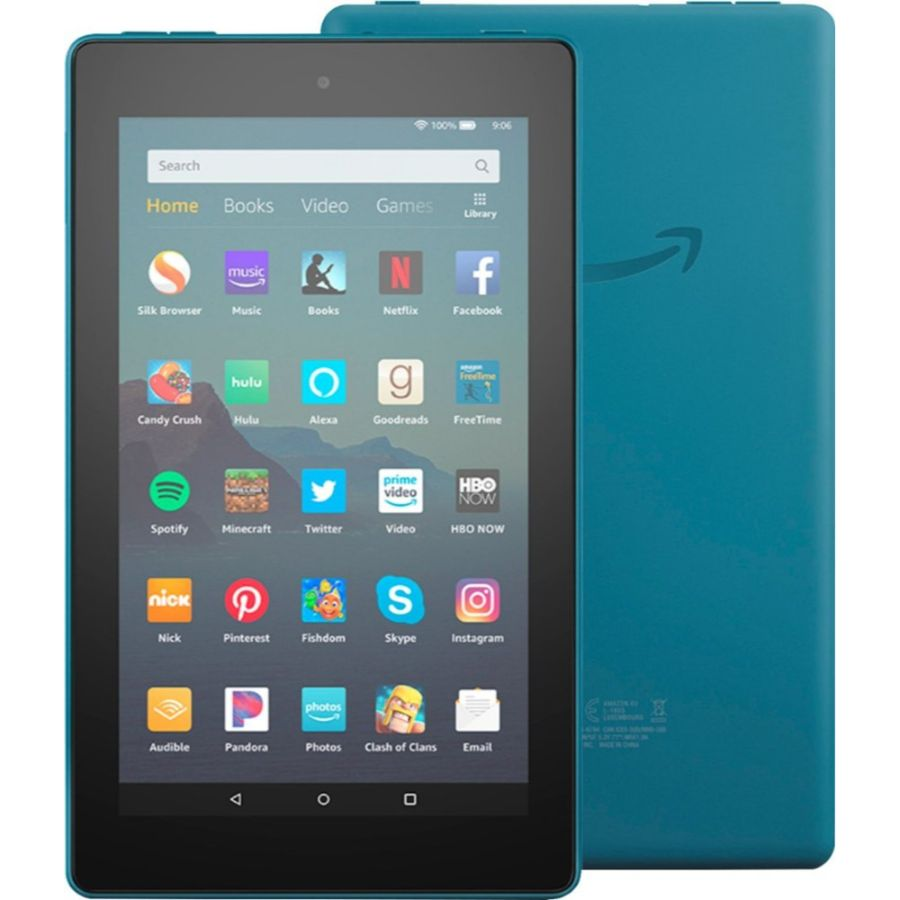 "Fire 7 Tablet (7"" display, 16 GB) with Special Offers-Twilight Blue-Daily Steals"