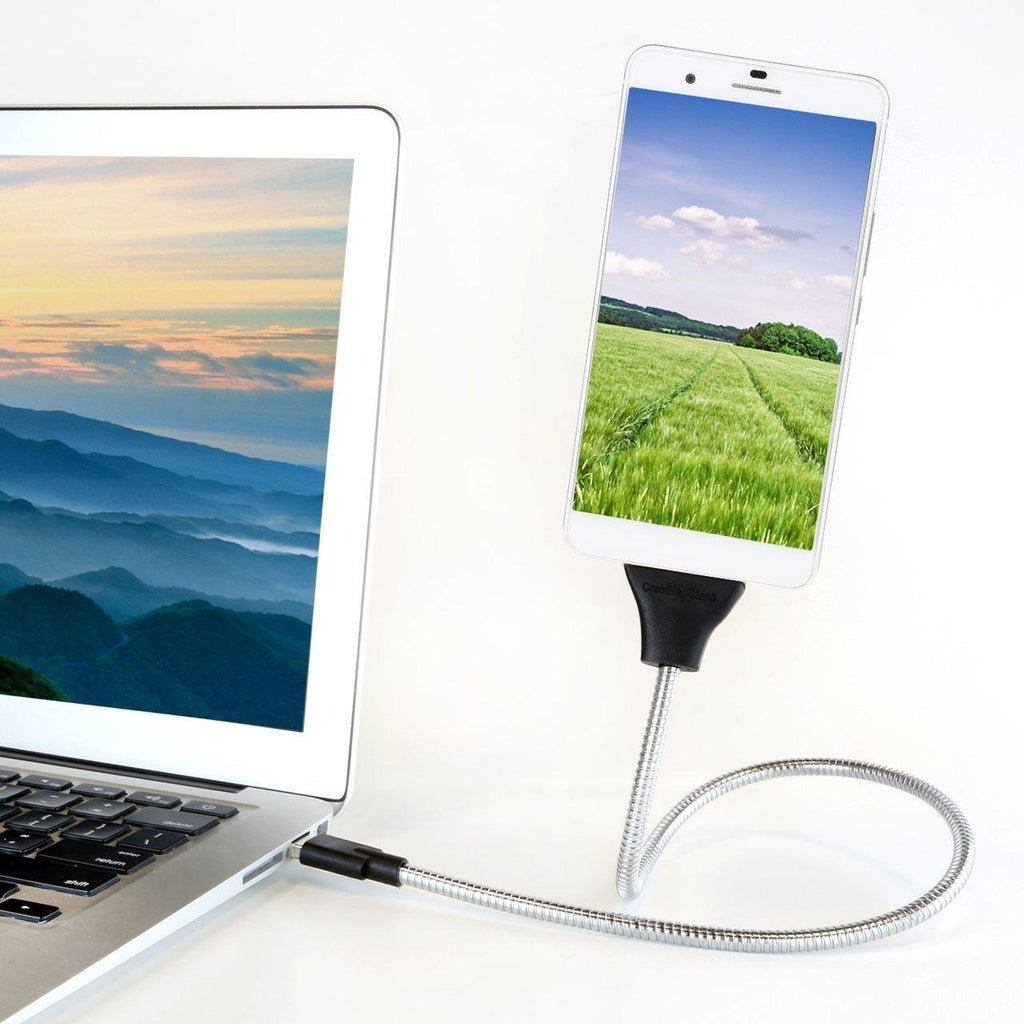 Flexible Cable Charger Mount- For iPhone and Android Devices-Micro/Android-Daily Steals