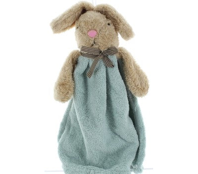Daily Steals-First Blanket Blankie - Ultra Soft-Toddlers and Babies-BEAR GREEN-