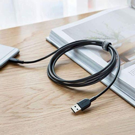 Anker Tangle-Free Powerline II Lightning Cable - 6 Feet-Daily Steals