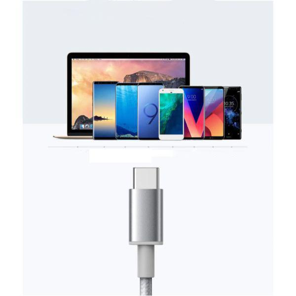 Anker Premium Nylon USB-C to USB-A Fast Charging cables, 3ft - 2 Pack-Daily Steals