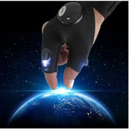 Anti-Slip Half Finger LED Flashlight Gloves - Left and Right Hand-Daily Steals