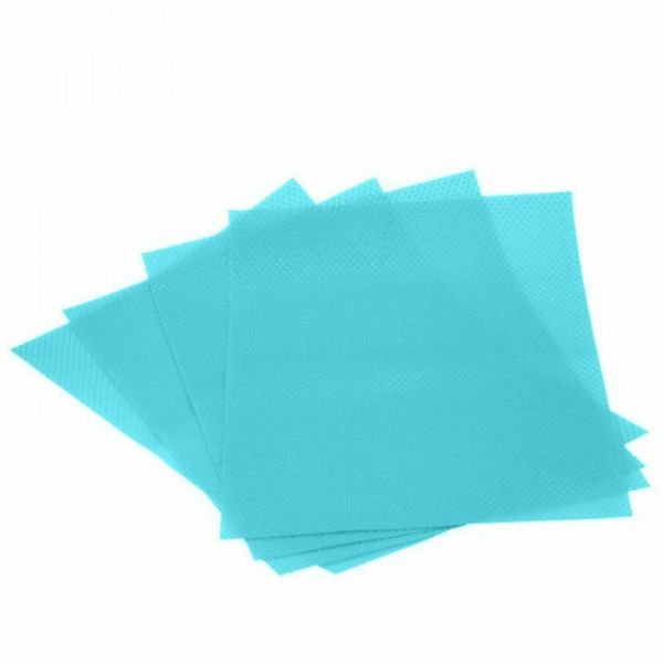 Antibacterial Silicon Refrigerated Placement Pads - 4 Pack-Blue-Daily Steals