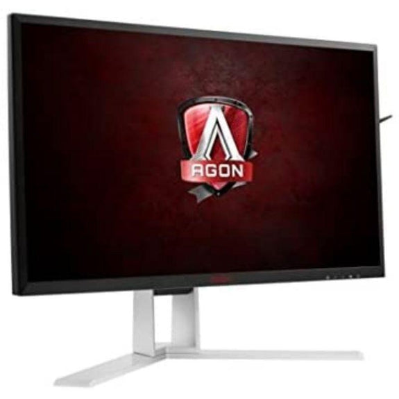 "AOC Agon 27"" Gaming Monitor, QHD 2560x1440 IPS Panel, G-Sync, 165Hz, 4ms, DisplayPort/HDMI, Quickswitch Keypad, VESA-"