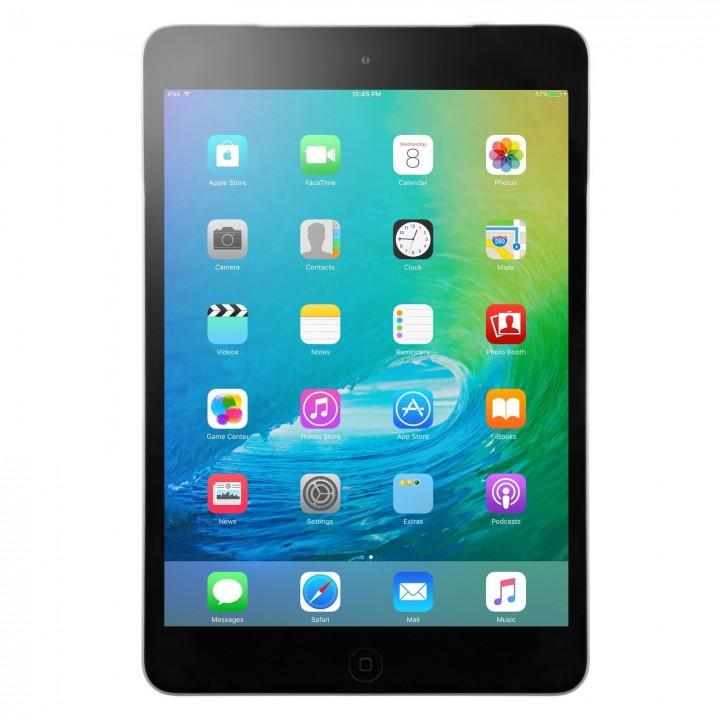 Apple iPad Mini 2 16GB with Wi-Fi and Retina Display- 2 Colors-Gray/Black-Daily Steals