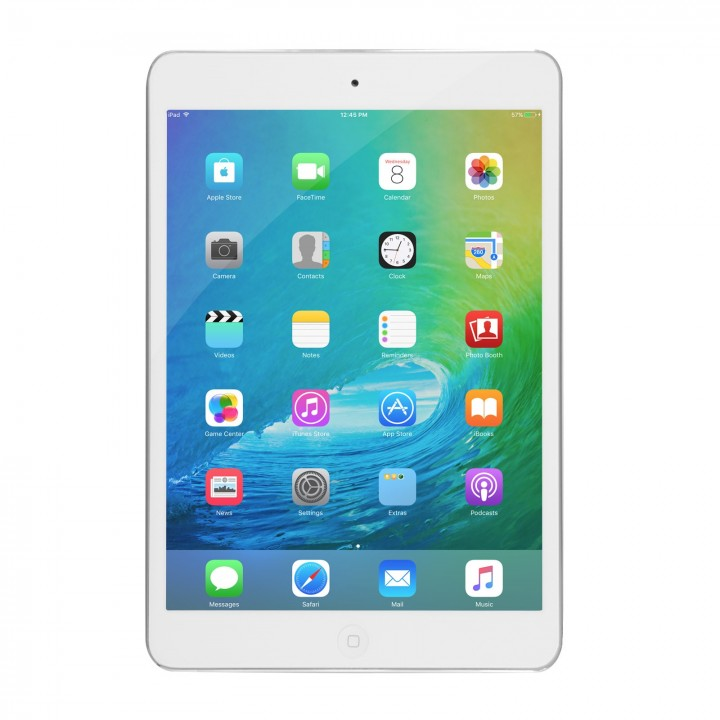 Apple iPad Mini 2 16GB with Wi-Fi and Retina Display- 2 Colors-Silver/White-Daily Steals