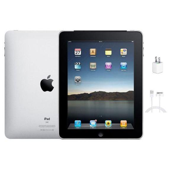 Daily Steals-Apple iPad 9.7-Inch Tablet - 16GB, Wi-Fi (Black, 1st Generation)-Tablets-