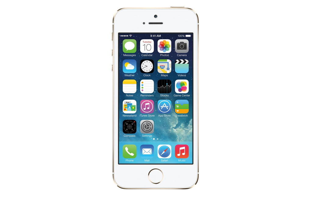 Refurbished Apple iPhone 5s 16GB Unlocked GSM 4G LTE Dual-Core Phone w/ 8MP Camera - Gold (Refurbished)-