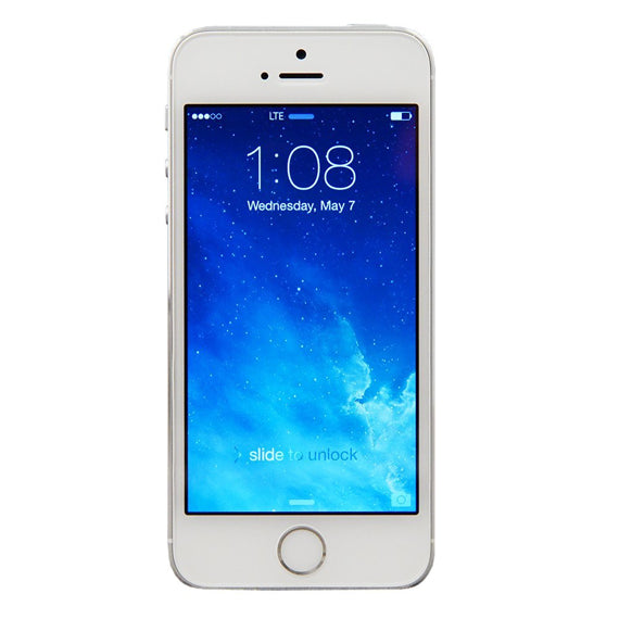 Apple, iPhone 5S, Unlocked, GSM Smartphone, 16GB-Silver-Daily Steals