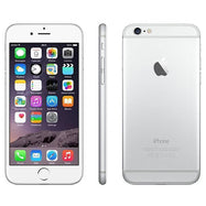 Refurbished Apple iPhone 6 (Verizon and GSM Unlocked-Silver-128GB-