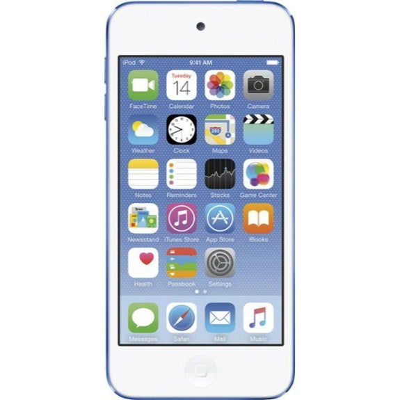 Apple iPod touch MP3 (6th Generation)-Blue-128GB-Daily Steals