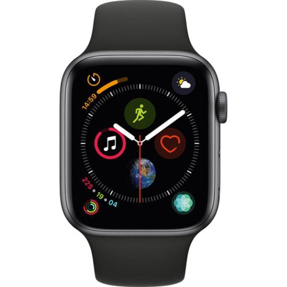 Apple Watch Series 4 (GPS + Cellular, Black Sport Band)-Daily Steals