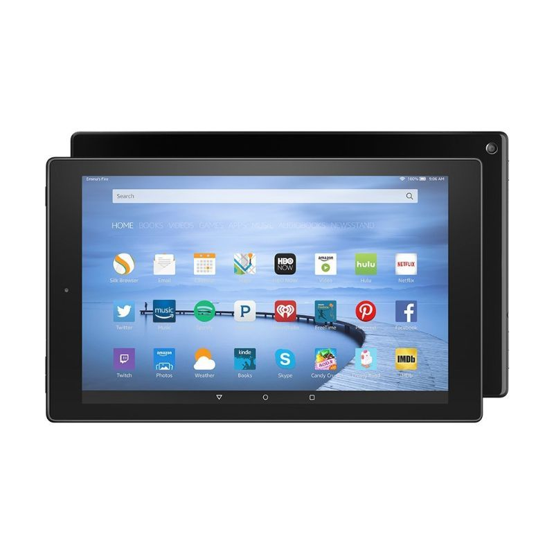 Amazon Fire HD 10 Tablet with Alexa Hands-Free, 16 GB, Black-Daily Steals