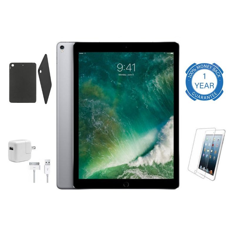 Apple iPad Air with Wi-Fi Bundle - Silver or Space Gray-Space Gray-16GB-Daily Steals