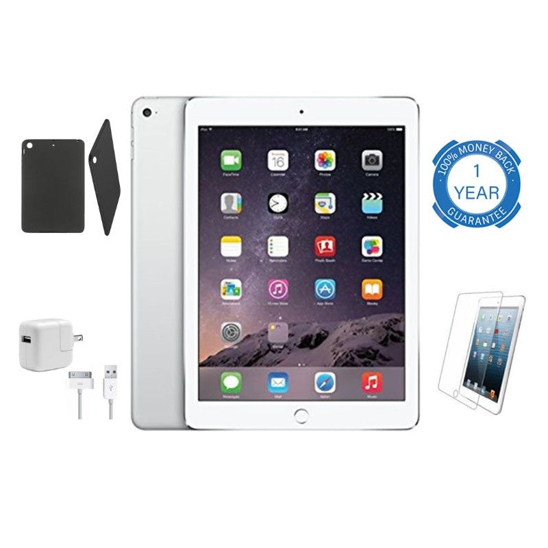 Apple iPad Air with Wi-Fi and FREE Bundle - Silver or Space Gray-Daily Steals