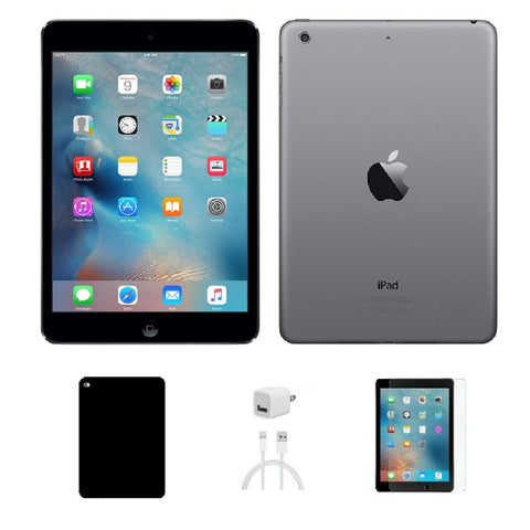 Apple iPad Mini 2 32GB Space Gray WiFi and 4G Unlocked - Bundle-Daily Steals