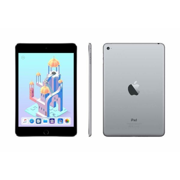 Apple iPad Mini4 - 16GB Space Gray and Plantronics Backbeat Fit 305 - Black-Daily Steals