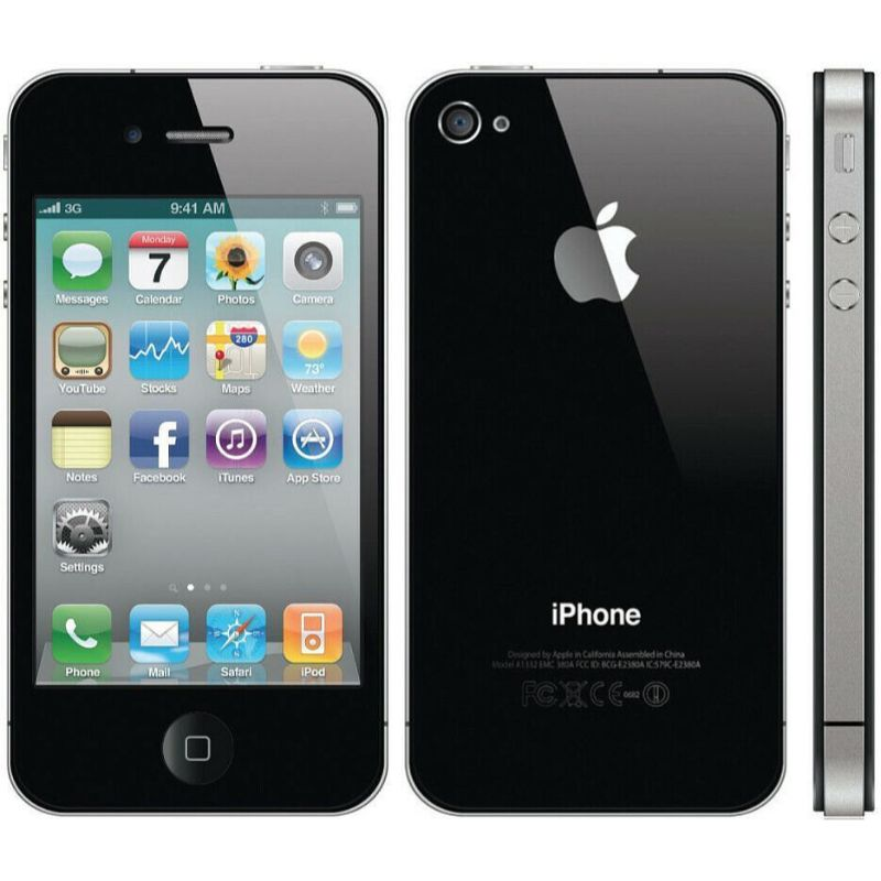 Apple iPhone 4 16GB Factory Unlocked Smartphone-Daily Steals